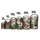 Custom 2-Liter Durable Waterproof Camo Dry Sack