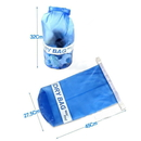 Blank 10-Liter PVC Waterproof Dry Bag