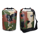 Blank 5-Liter Durable Waterproof Camo Roll Top Dry Bag