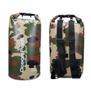 Blank 30-Liter Durable PVC Waterproof Camo Dry Sack with Double Shoulder Strap