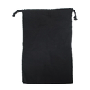 Opromo 100% Cotton Reusable Storage/Shoe Bag with Drawstring Closure For Men and Women, Travel Accessories 15.5