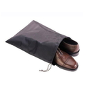 Blank Nylon Waterproof Shoe Bags with drawstring for travel/carrying, 12