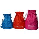 Kids Waterproof Dance Bags w/Shoulder Strap Drawstring School Backpack (S/M/L)