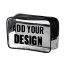 Custom Clear Cosmetic Tote Bag (8-1/4