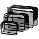 Blank Customer Clear Cosmetic Tote Bag (8-1/4