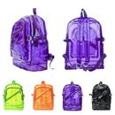 Aspire Clear Backpack Student Transparent School Bookbag Waterproof Daypack Jelly Bags