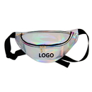 Custom Fanny Pack Promotional Holographic Waist Pack Bum Bag Purse Waist Bag