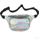 Aspire Hologram Laser Fanny Pack Waterproof Waist Bag Travel Chest Pack Bum Bag