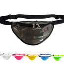 Opromo Clear Transparent Fanny Pack Adjustable Waist Pack Water-Resistant Beach Travel Purse