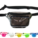 Opromo Clear Transparent Fanny Packs Outdoor Travel Waterproof Chest Pack Beach Purse