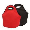 Opromo Waterproof Neoprene Lunch Tote Bag for Outdoor Travel Work School