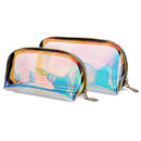Laser Waterproof Cosmetic bag Portable Beauty Fashion Makeup Pouch Clear Travel Toiletry Bag Multifunctional Storage bag