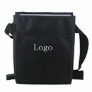 Custom Black Waist Apron Money Pouch with Adjustable Belt Loop