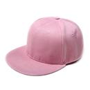 Opromo Kids Cotton Plain Snapback Baseball Cap Hip-pop Flat Bill Adjustable Hat