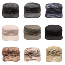Opromo Washed Cotton Fitted Military Hat Cadet Army Caps Digital Camo Castro Hat