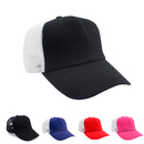 Opromo Kids Trucker Hat Heavily Garment Washed, Mesh Back