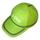 Custom HI VIS Baseball Cap, Enhanced-viz Safety Hat with Reflective Stripe
