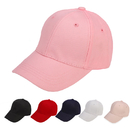 Opromo Unisex Kids Plain Cotton Cap Adjustable Low Profile Baseball Cap Hat