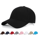 Opromo Classic Cotton Dad Hat Adjustable Plain Baseball Cap Polo Style Low Profile