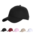 Opromo Adjustable Unconstructed Low Profile Baseball Cap, Classic Plain Polo Style Cotton Dad Hat