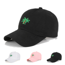 Opromo Palm Tree Dad Hat Unconstructed Polo Style Adjustable Cotton Baseball Cap