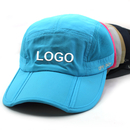 Custom Opromo UPF 50+ Outdoor Quick Dry Sun Hat Unisex Folding Baseball Cap w/ Long Large Bill and Embroidered Logo