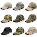 Opromo Tactical Hat Constructed Operator Baseball Cap Trucker with Loop Patches