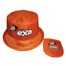 Custom Foldable Nylon Bucket Hat, Portable Hat, Full Color Printed