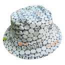 Custom Foldable Non-Woven Bucket Hat, Portable Hat, One Color Printed