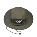Custom Printed Embroidered Guide Boonie Hat Wide Brim Double-side Outdoor Fishing Hat