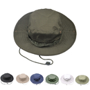 Opromo Wide Brim Double-side Outdoor Fishing Sun Boonie Hat Summer Bucket Cap