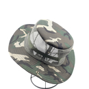 Opromo Bucket Hat Wide Brim Bonnie Hat Camouflage Fishing Sun Hat Mesh Hunting Cap