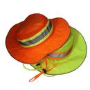 Opromo High-Visibility Ranger Hat, Mesh Top Bonnie Hat Workman Reflector Cap