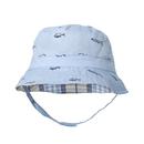 Opromo Toddler Kids Sun Hat Summer Reversible Cotton Bucket Hat Sun Protective Cap