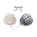 Opromo Baby Boy Girl Sun Protection Cap Toddlers Kids Adjustable Reversible Bucket Hat