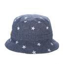 Opromo Toddler Kids Bucket/Reversible Brim Play Sun Hats with Drawstring Chin Strap