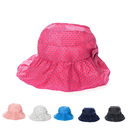 Opromo Toddler Kids Anti-UV Sun Protection Visor Cap Polka Dots Baby Sun Hat