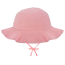 Opromo Toddlers Kids Sun Protection Bucket Hat for Girls Wide Brim Baby Beach Cap