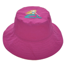 Custom Baby & Toddler Cotton Sun Protection Hat Reversible Embroidered Bucket Hat