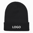 Promotional Heavy Cuffed Knit Cap with Your Design, Acrylic Material