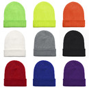 Opromo Unisex Acrylic Soft Long Cuffed Beanie Skull Cap Knit Hat, 7 1/2