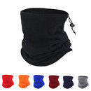 Opromo Outdoor Fleece Neck Warmer Scarf Hat multifunctional headgear warm mask hat