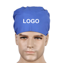 Custom Bleach Friendly Scrub Hat with Sweatband for Men Women,Adjustable Tie Back Scrub Cap Doctors Hat