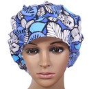Opromo Bouffant Scrub Hat Bouffant Scrub Cap with Sweatband for Womens Ponytail