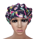 Opromo Bleach Friendly Adjustable Bouffant Scrub Hat with Sweatband for Women,Bouffant Scrub Cap Working Hat
