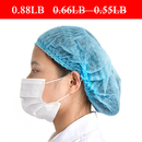 (Price/100 PCS) Opromo Extra Thick Disposable Non-woven Bouffant Scrub Cap Long Hair Shower Cap