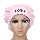 Custom Solid Bouffant Cap Scrub Hat with Sweatband and Drawstring,Adjustable Bleach Friendly Srub Working Hat