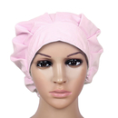 Opromo Solid Bouffant Scrub Cap Bouffant Scrub Hat with Sweatband Adjustable