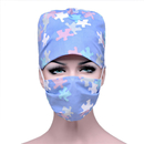 Opromo Adjustable Scrub Hat Sweatband Scrub Cap for Ponytail With Free Cotton Masks