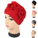 Opromo Womens Flower Chemo Hat Cancer Cap Turban Headwear for Cancer Patients